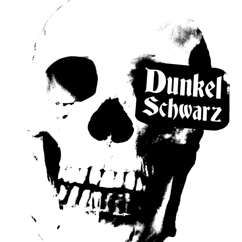Print Donker zwart